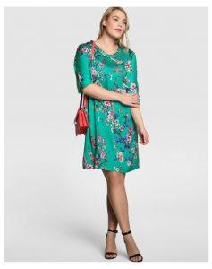 10 vestidos de fiesta para gorditas con flores (8)