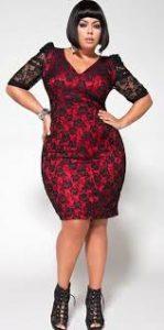 10 vestidos para gorditas con encaje (2)