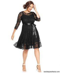 10 vestidos para gorditas con encaje (4)